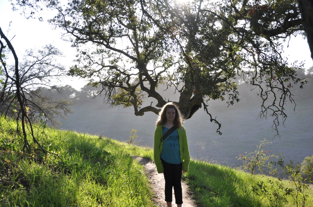 Emily and California Oak.