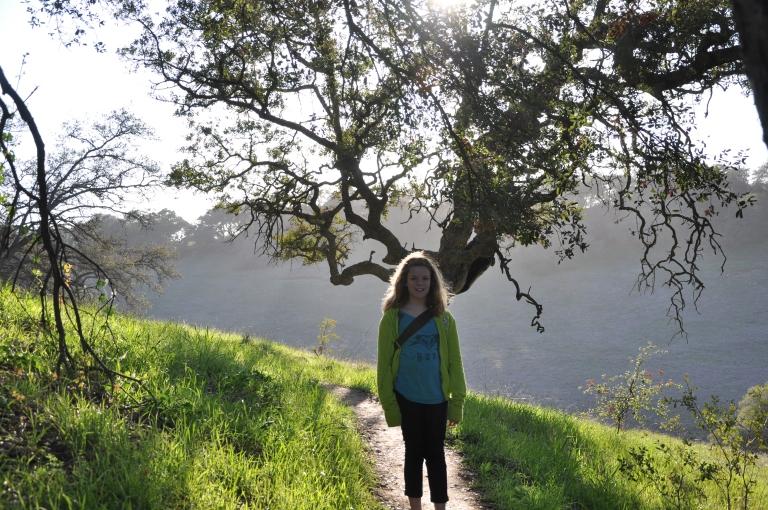 Emily and California Oak.