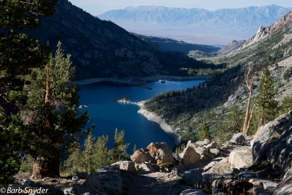 Lake Sabrina with water!