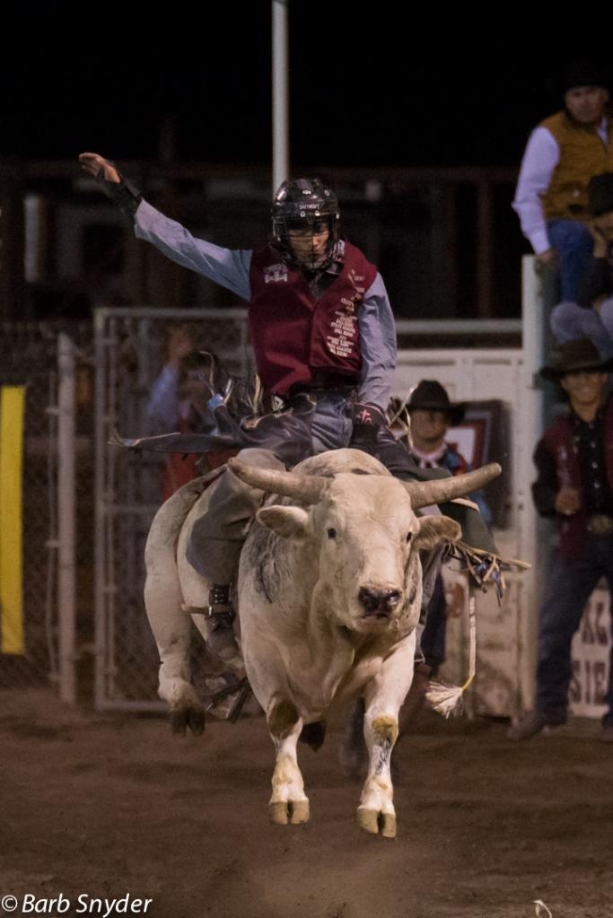 Riding the Bull.