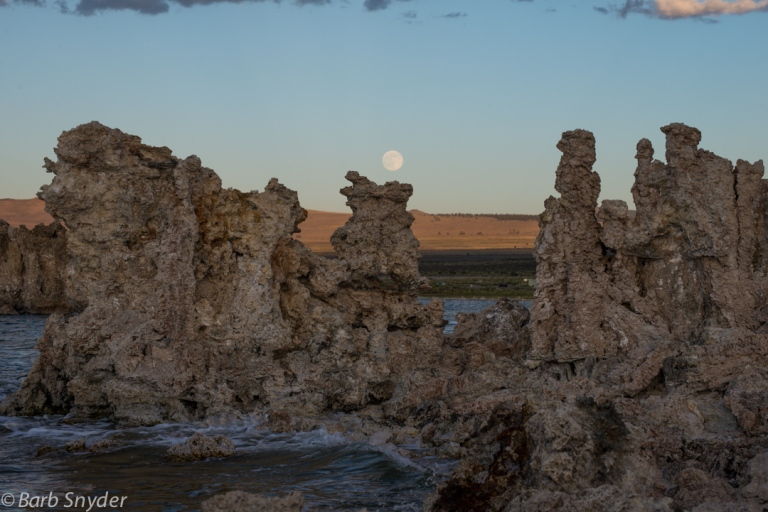 These shots of Mono Lake were taken on several different visits to this salty lake that supports brine shrimp and birds.