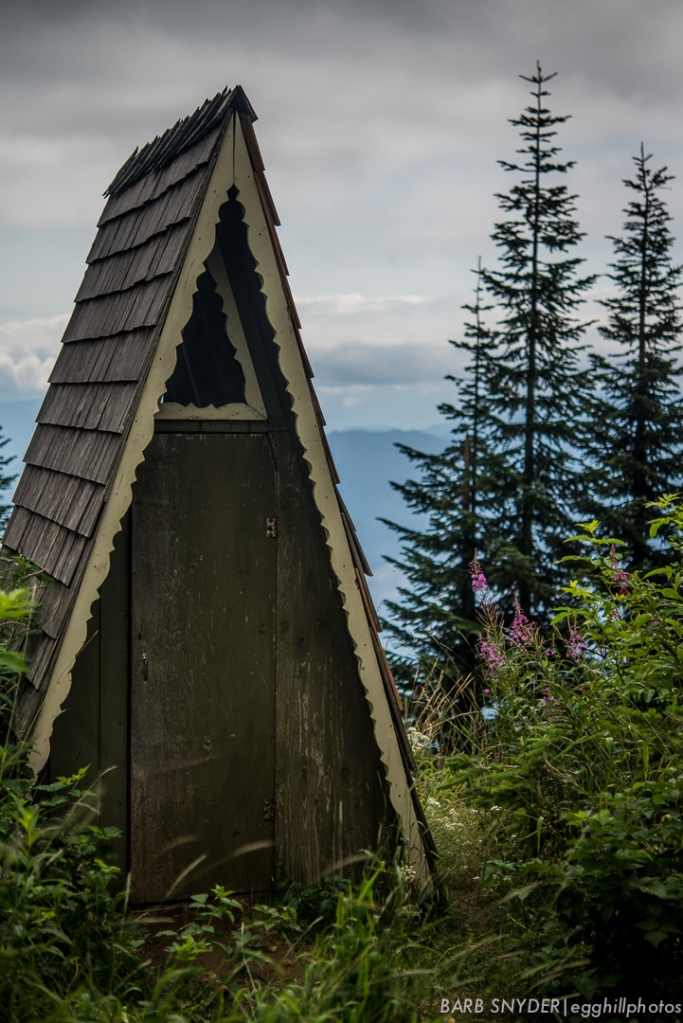 Sauk Mtn outhouse
