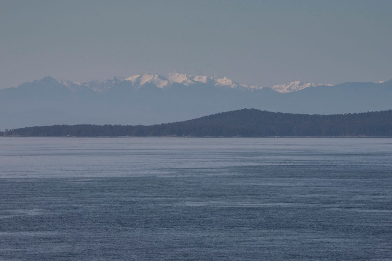 Olympic Range to the south